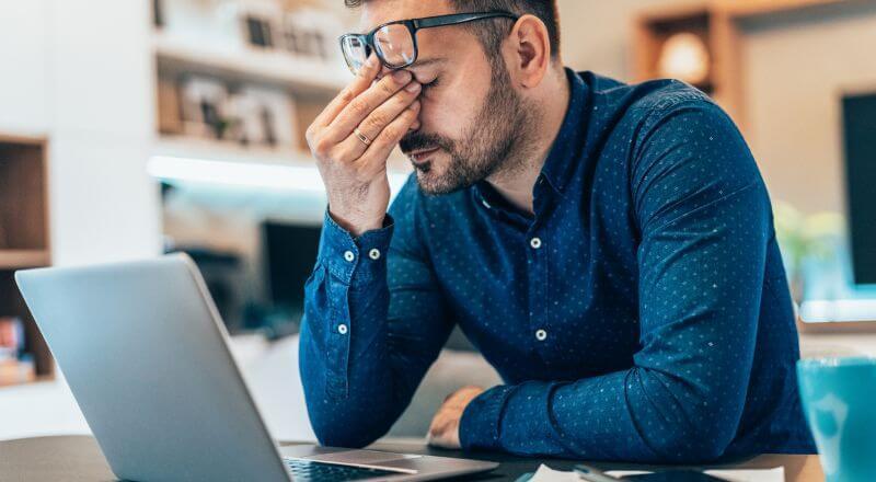 在宅勤務のストレス原因と上手く解消していく5つのコツ
